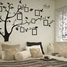 Large Family Photo Frame Tree Vinyl Removable Wall Stickers Mural Art Home Decor