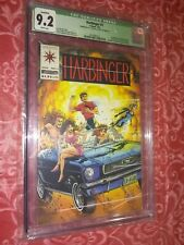 HARBINGER #1 (No/Coupon, First appearance) CGC 9.2 NM- Valiant Comics 1992
