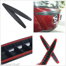 Anti-rub Edge Lip Anticollision Universal Car Bumper Protector Universal 2 Pcs