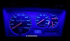 VW Polo 86C GT Tacho mit DZM Blau Rot Weiß OEM grün LED Polo III Drehzahlmesser