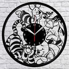 "Winnie the Pooh Vinyl Record Wall Clock Fan Art Home Decor 12"" 30cm 1591"
