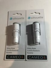 LOT OF 2 SILHOUETTE CAMEO 4 ROTARY BLADES SEALED  New!