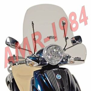 Pare-Brise Complet piaggio beverly Tourer 125-250-300-400 103A+A103A