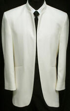 Boys 16 Very Nice Ivory Mirage Tuxedo Tux Cruise Dinner Jacket D.J.Winter White
