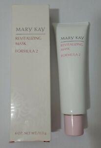 Mary Kay REVITALIZING MASK 4oz Formula 2  #4191 DISCONTINUED HTF