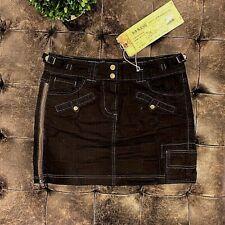 *NEW WITH TAGS* $295 Da-Nang Black Zip Skirt Size XS