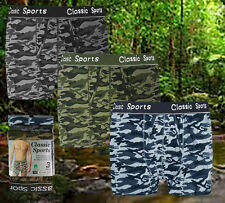 3,6,12 Pieces Pack Mens Cotton Rich Boxer Shorts Gifts Underwear Trunks S,M,L,XL