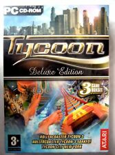 68459 - Tycoon Deluxe Edition 3 Game Box Set [NEW / SEALED] - PC (2006) Windows