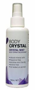 30% OFF The Body Crystal Body Spray Deodorant Crystal Mist Fragrance Free 150ml