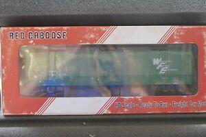 HO Scale Red Caboose BN Burlington Northern Mechanical Reefer rr-34803-05