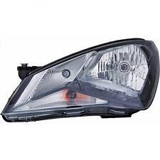 Faro delantero Izquierdo SEAT Mii 12- negro H4 con ciclomotor luz durante el día