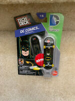 Tech Deck DC Comics BATMAN #1/6 NIB With Tool And Display Stand Mini Skateboard