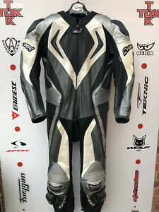 Spyke Cyber 1 piece race suit with hump uk 46 euro 56