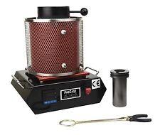 ProCast™ 2 KG Gold Silver Euro Melting Furnace 220V Refining Casting Gold 2102°F