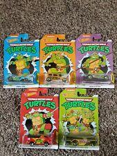 Teenage Mutant Ninja Turtles Hot Wheels Set Of 5 Mattel