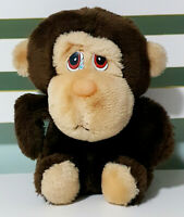 Applause 1987 Crying Monkey Plush Children's Animal Toy 20cm Tall!