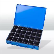 184120 Sortimentskoffer Sortimentskasten Kleinteilemagazin Kleinteilebox Metall