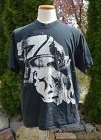 OAKLEY Men's Sz: XL Black w/ White Graphic Short Sleeve T-SHIRT