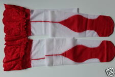 LACE TOP CUBAN HEEL BACK SEAMED STOCKING 5 COLOURS