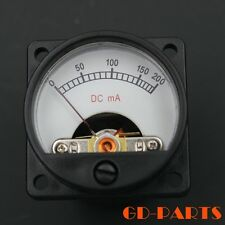 35mm DC200mA Panel Meter With 12V warm Back Light 300B,845,211,2A3 TUBE AMP CDx2