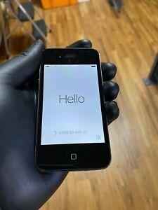 Apple iPhone 4S MD276LL/A Unlocked Black 16GB 8MP Camera 3.5 in Display