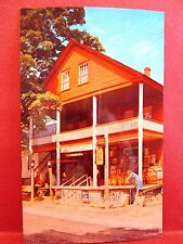 Postcard VT Weston Vermont Country Store Exterior Vertical View