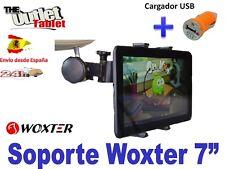 "SOPORTE REPOSACABEZAS PARA TABLET WOXTER 7"" PC70 PC50 PC65 Nimbus 7.85"