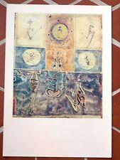 De KERMOAL Planche crédit Lyonnais Repro. Peintre Graveur SINGAPOUR Malaisie