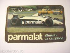 ADESIVO AUTO F1 anni '80 / Old Sticker Vintage RICARDO ZUNINO Brabham (cm 12x7)