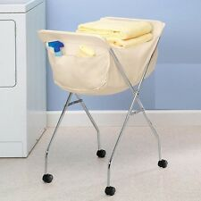 Laundry Cart With Heavyweight Bag, Roll Your Laundry, Convenient And Portable