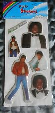 MICHAEL JACKSON - PUFFY STICKERS - VINTAGE 80'