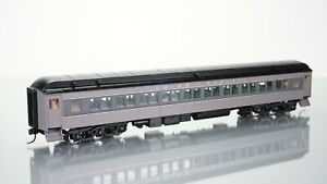 Walthers Heavyweights Paired Window Coach Union Pacific Grey HO scale