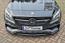 Action spéciale spoiler épée Front spoiler ABS Mercedes CLA 45 AMG c117 ABE