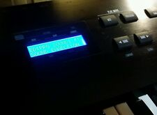 *** Alesis QS6 QS7 QS8 Blue LCD w/contrast pot - plug n'play - Ships Worldwide