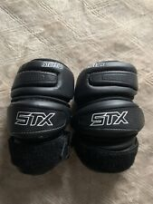 Stx Lacrosse Elbow Pads Black Mens Adult Medium