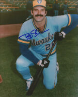 1982 BREWERS Bob Skube signed 8x10 photo AUTO Autographed Milwaukee