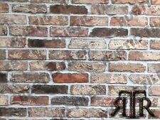 brick slips cladding wall tiles old featured wall rustic tiles  NATURAL MIX