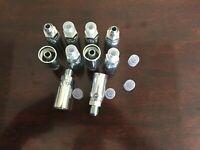 "(10 PK) MJ-06-06 Hydraulic Hose Crimp Fittings 3/8"" x 3/8"" Male JIC 06U-506"