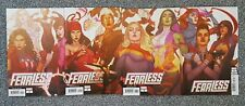 FEARLESS 1 2 3 4 CONNECTING COVER SET - MARVEL COMICS 2019 - NEW NM UNREAD