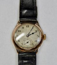 9c408305 New ListingAntique 9K Gold RECORD 15 Jewel Swiss Made Wristwatch WORKING  CONDITION (HEY)
