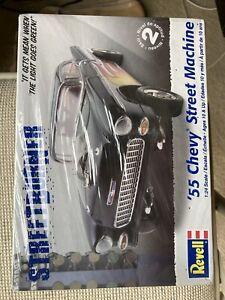Revell 55 Chevy Street Machine  1/24 new in box