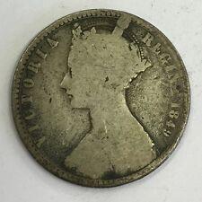 Antico Victoria Vittoriano 1849 ARGENTO FIORINO MEDAGLIA Godless