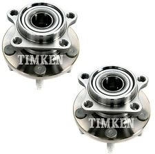 Pair Set 2 Rear Timken Wheel Bearing And Hub Kits for Ford Edge Lincoln MKX AWD