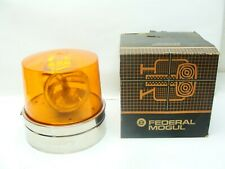 RARE LARGE VINTAGE SIGNAL STAT EMERGENCY LIGHT SAE W3-80 NEVER USED WITH BOX.
