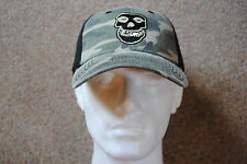 MISFITS EMBROIDERED FIEND SKULL LOGO CAMO BASEBALL CAP BNWT OFFICIAL DANZIG PUNK