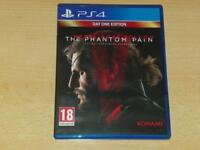 Metal Gear Solid V The Phantom Pain PS4 Playstation 4 **FREE UK POSTAGE**