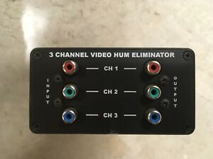 Empire State Filter Co. 3 Channel Video Hum Eliminator