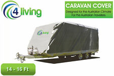 Caravan/Pop Top Covers 14-16ft  Heavy Duty ,side access, side straps