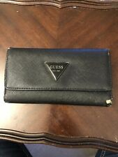 Guess wallet, Canvas Black