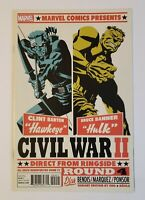 Civil War II #4 Variant Cover 1st Appearance of Immortal She Hulk Marvel Comics